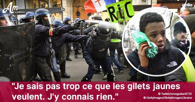 Un adolescent de 15 ans grièvement blessé raconte pourquoi il a participé à la manifestation des Gilets Jaunes