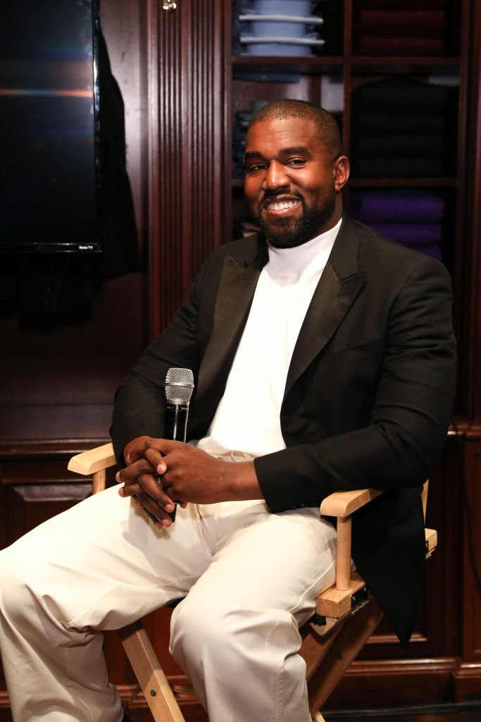 Kanye West at Jim Moore Book Event At Ralph Lauren Chicago on October 28, 2019 | Photo: Getty Images
