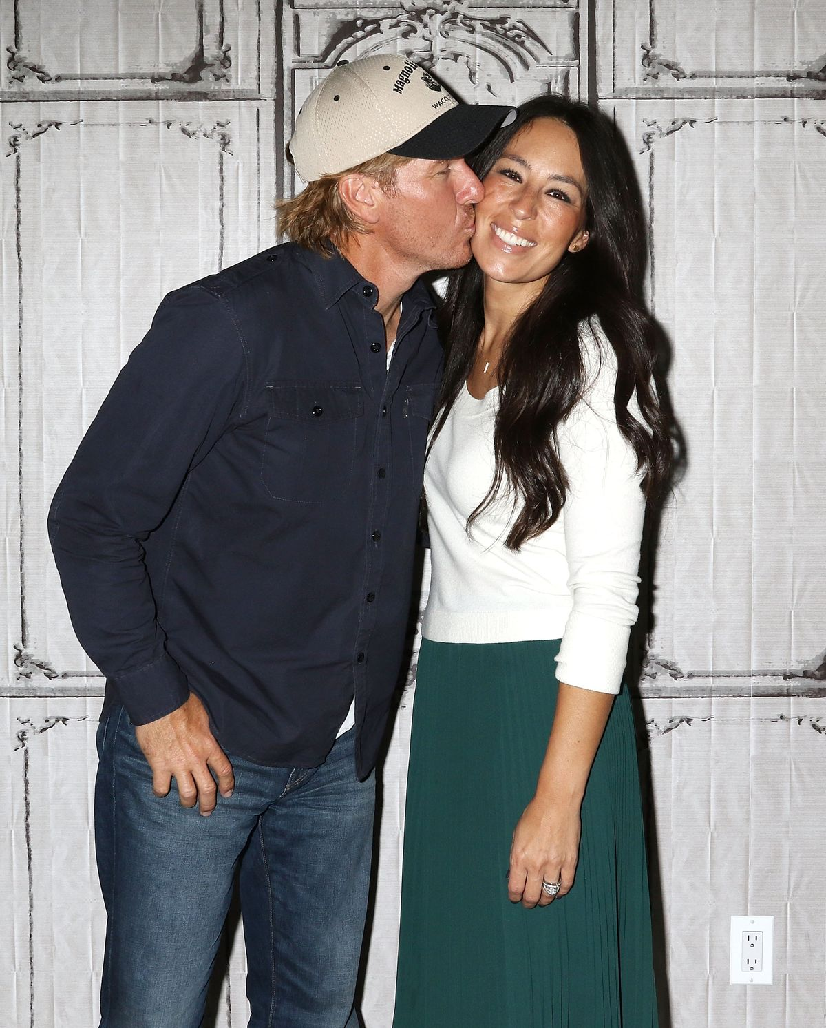 """Chip and Joanna Gaines at The Build Series to discuss """"The Magnolia Story"""" on October 19, 2016, in New York City   Photo: Laura Cavanaugh/WireImage/Getty Images"""