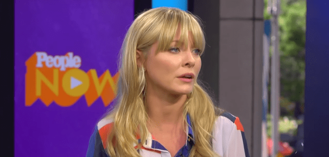 Kaitlin Doubleday during an interview with People in 2015 | Photo: YouTube/People