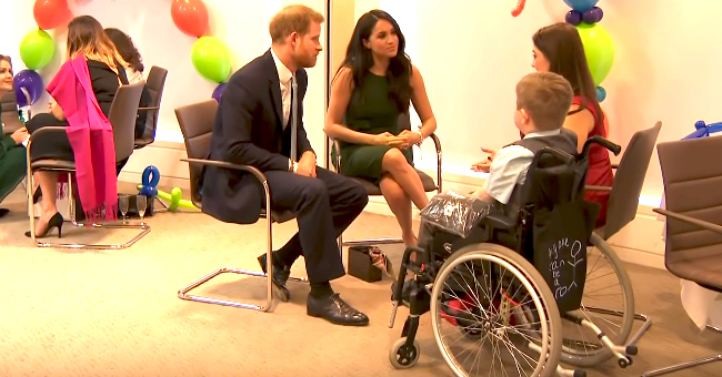 Prince Harry Adorably Jokes about Having Ginger Hair with 11-Year-Old Redhead Girl