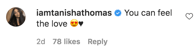 Tanisha Thomas commented on a photo of 50 Cent and his son Sire Jackson on a boat ride | Source: instagram.com/50cent