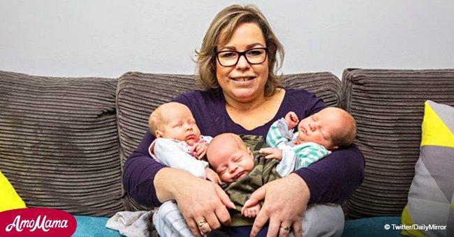 Mamá queda embarazada a través de FIV y descubre que ya está embarazada de gemelos