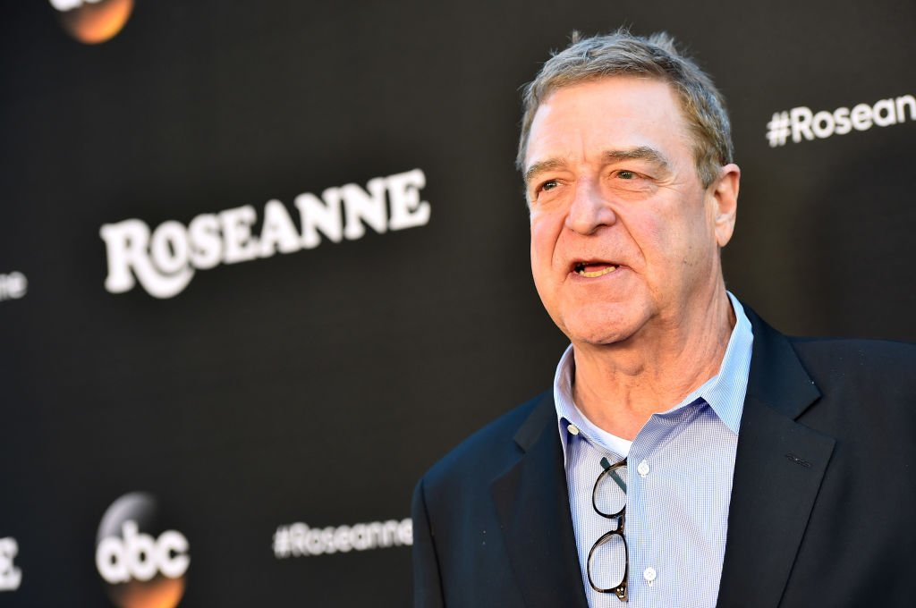 """John Goodman attends the premiere of ABC's """"Roseanne"""" in Burbank, California on March 23, 2018 