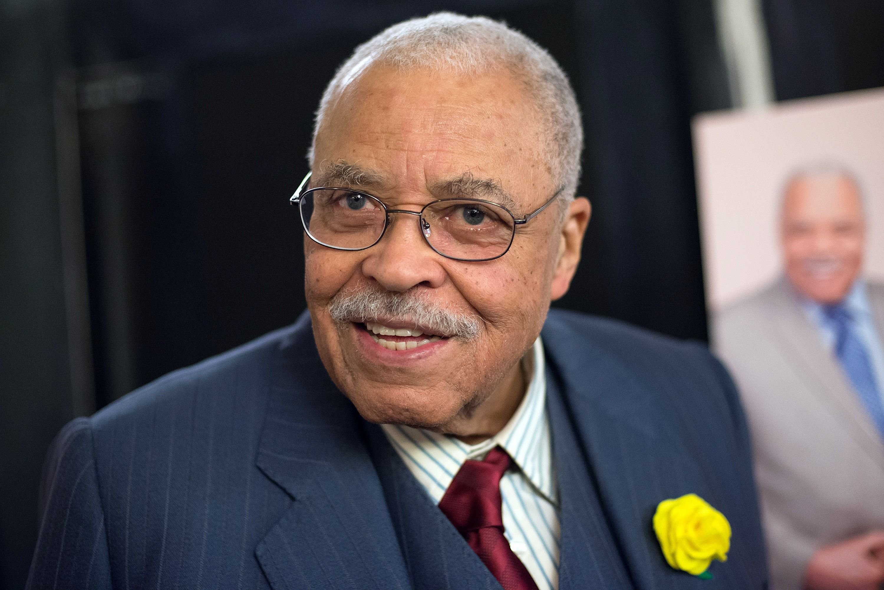 """James Earl Jones at """"The Gin Game"""" Broadway opening night after party in 2015   Photo: Getty Images"""