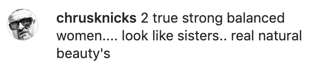 A fan's comment on Marla Maples' post. | Source: Instagram/itsmarlamaples