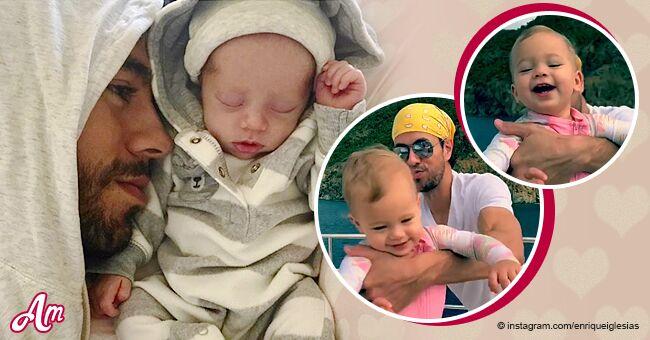 12 preciosos instantes que demuestran que Enrique Iglesias es el papá más perfecto y divertido