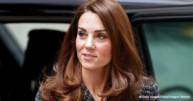 Kate Middleton looks radiant in tweed skirt suit drawing attention to her $430 pumps