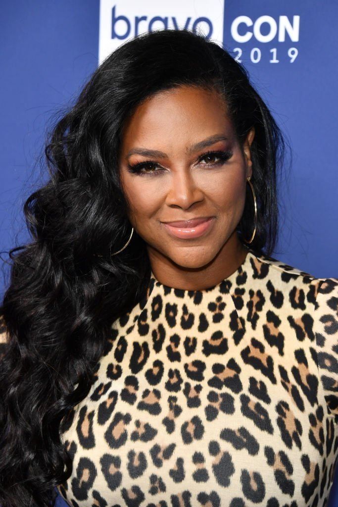 Kenya Moore attends the opening night of 2019 BravoCon at Hammerstein Ballroom | Photo: Getty Images