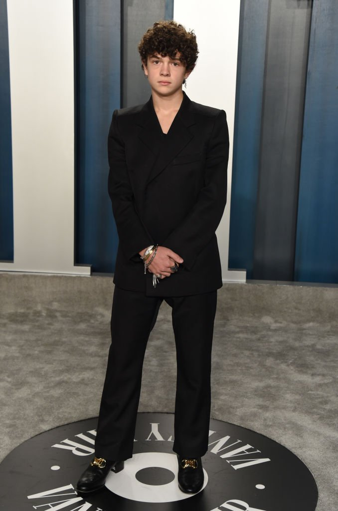 Noah Jupe attends the 2020 Vanity Fair Oscar Party hosted by Radhika Jones at Wallis Annenberg Center for the Performing Arts on February 09, 2020 in Beverly Hills, California. | Source: Getty Images