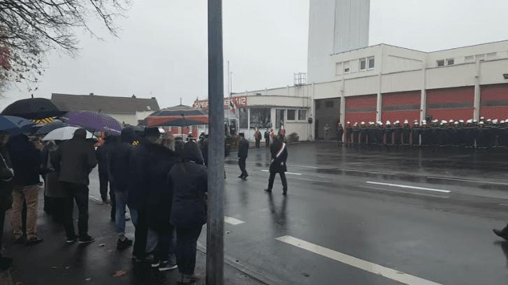 Manifestation des sapeurs pompiers de Cholet |  Youtube / Manu M