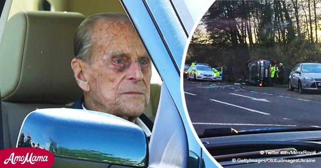"""Le héros qui a sauvé le prince Philip après un accident de voiture: """"J'avais le sang du prince sur les mains"""""""