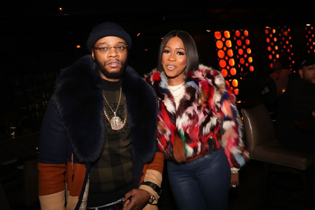 Papoose (L) and Remy Ma attend the Suss-One Dinner And A Movie at iPic Theater | Photo: Getty Images