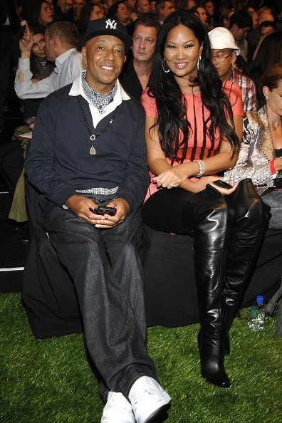 Russell Simmons and Kimora Lee Simmons attend TOMMY HILFIGER Spring 2011 Fashion Show on September 12, 2010 | Photo: Getty Images