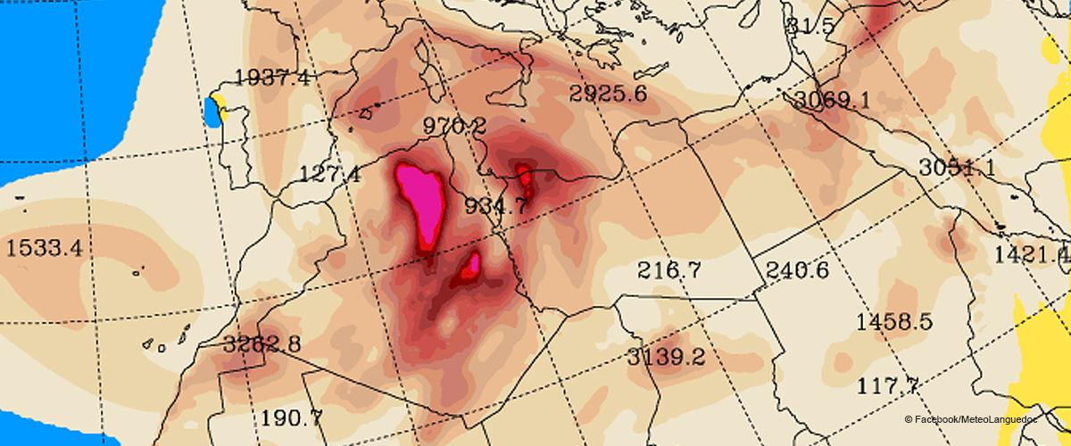 Une pluie chargée de sable en provenance du Sahara a touché l'Occitanie