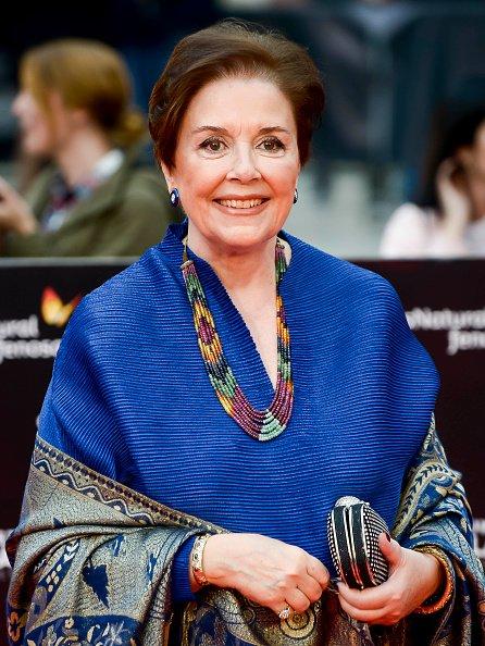 Monica Randall asiste a la ceremonia de clausura del 21º Festival de Cine de Málaga en el Teatro Cervantes el 21 de abril de 2018 en Málaga, España. | Fuente: Getty Images