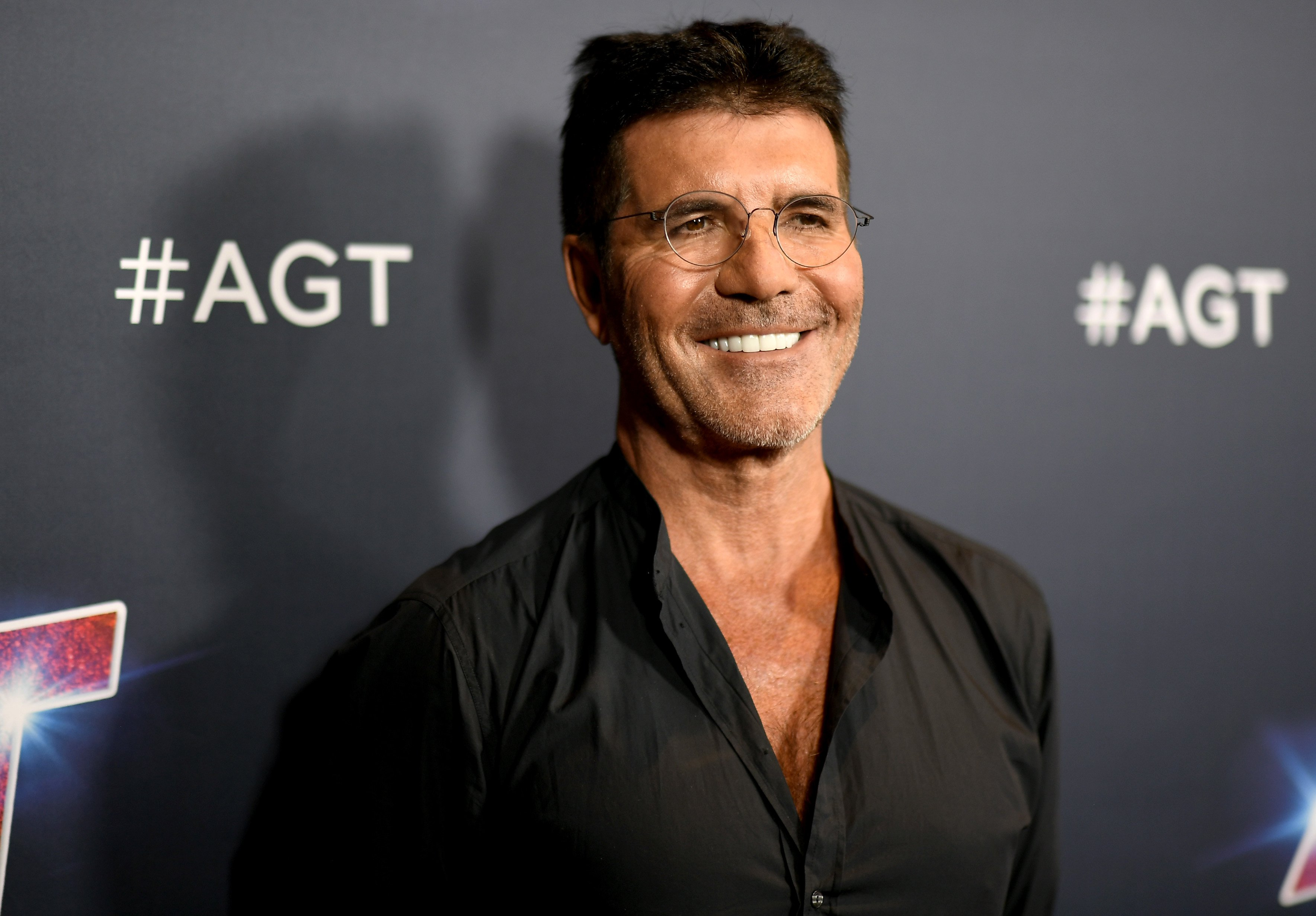"""Simon Cowell attends """"America's Got Talent"""" Season 14 Live Show Red Carpet on September 17, 2019, in Hollywood, California. 