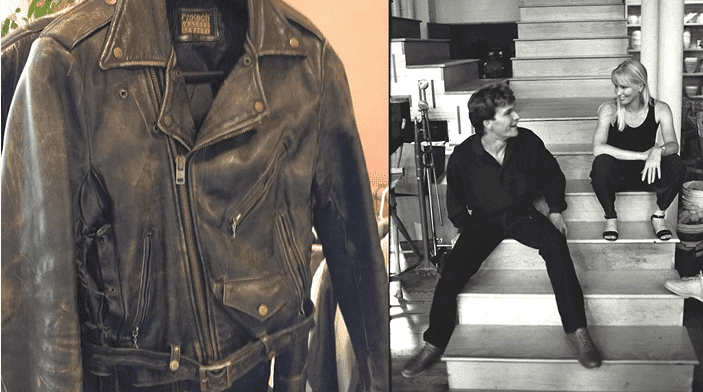 "Patrick Swayze's leather jacket from ""Dirty Dancing"" 