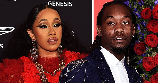Offset Denies Cheating Rumors by Claiming His IG Account Was Hacked and Gets Support from Wife Cardi B