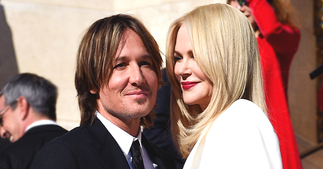 Nicole Kidman Sits with Keith Urban and Her Onscreen Husband Alexander Skarsgard during Paris Fashion Week