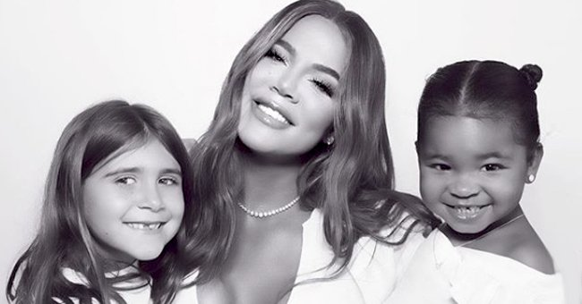 Check Out Khloé Kardashian's Daughter True's Precious Smile as She Poses with Her Mom (Photo)