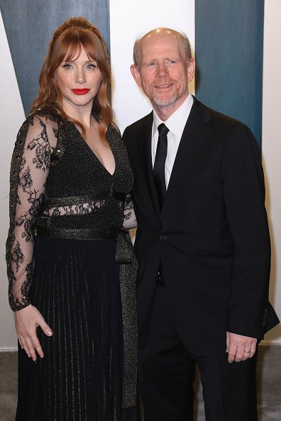 Bryce Dallas Howard and Ron Howard at Wallis Annenberg Center for the Performing Arts on February 9, 2020 in Beverly Hills, California. | Photo: Getty Images