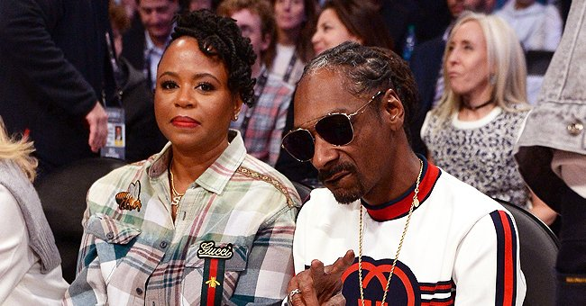 Snoop Dogg's Wife Shante Is All Smiles Posing In a Long Snow-White Dress — Fans Are In Awe