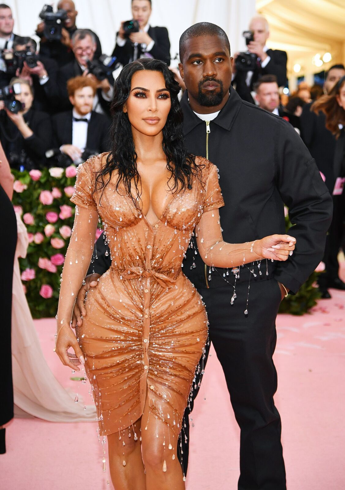Kim Kardashian West and Kanye West attend The 2019 Met Gala Celebrating Camp: Notes on Fashion at Metropolitan Museum of Art on May 06, 2019 in New York City | Photo: Getty Images