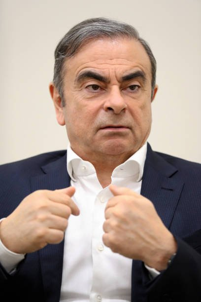 Carlos Ghosn l'ancien PDG du groupe automobile Renault-Nissan | Photo : Getty Images