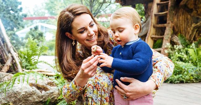 Le prince Louis fait ses premiers pas dans le jardin de Kate Middleton