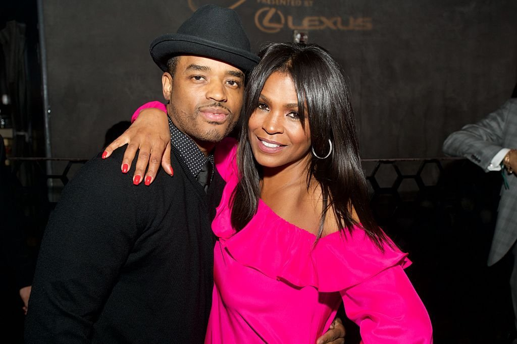 Larenz Tate and Nia Long attend Uptown Honors Hollywood Celebration at Lure on February 25, 2016. | Photo: GettyImages