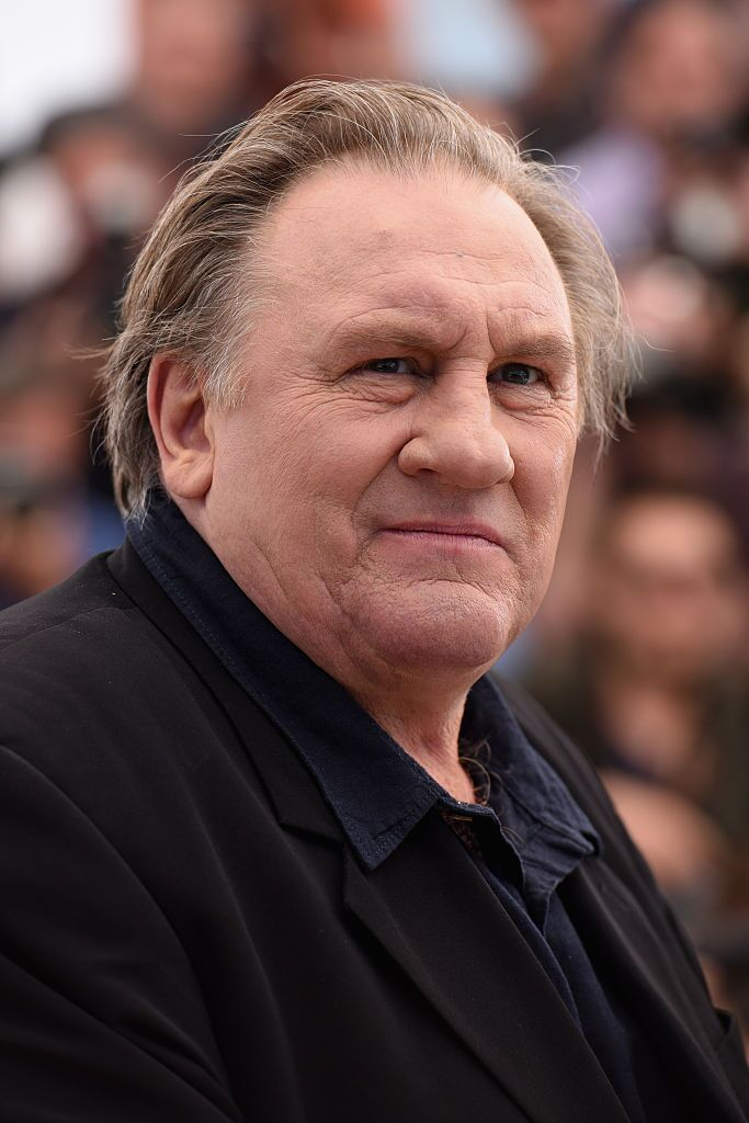"L'acteur Gerard Depardieu assiste au Photocall ""Valley Of Love"" lors du 68e Festival de Cannes le 22 mai 2015 à Cannes, France. 