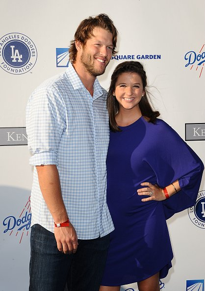 Clayton Kershaw and Ellen Kershaw at the Los Angeles Dodgers Foundation Blue Diamond gala at Dodger Stadium on July 28, 2016 in Los Angeles, California | Photo: Getty Images