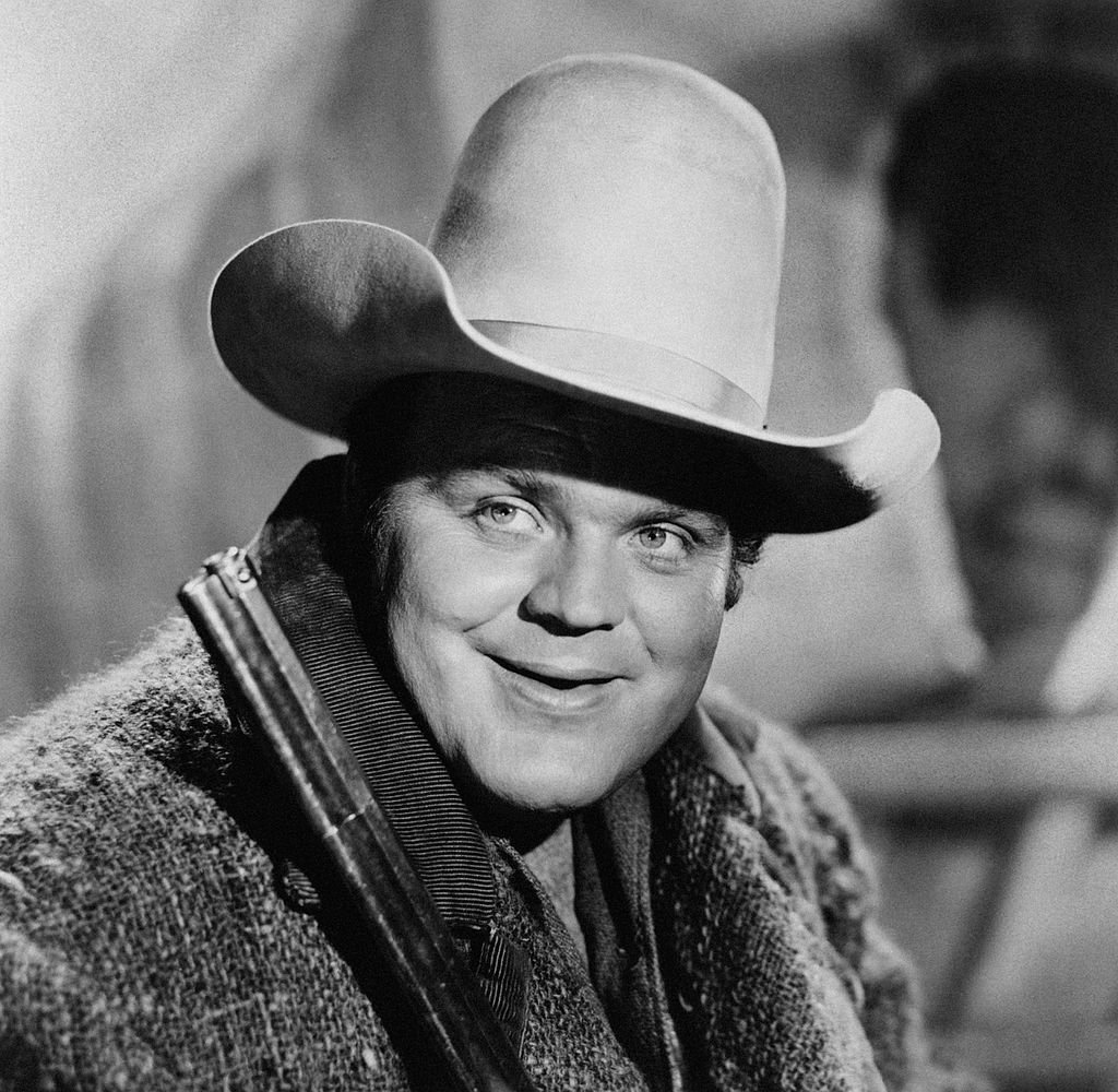 Dan Blocker is photographed with a cowboy hat and a rifle on December 31, 1955   Photo: Getty Images