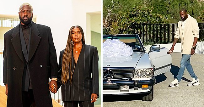 See Dwyane Wade's Reaction as Gabrielle Union Surprises Him with a Classic Car for His Birthday