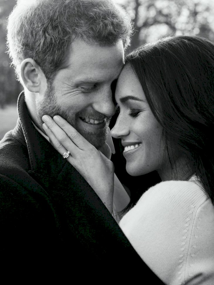 Prince Harry and Meghan Markle's official engagement photo | Getty Images