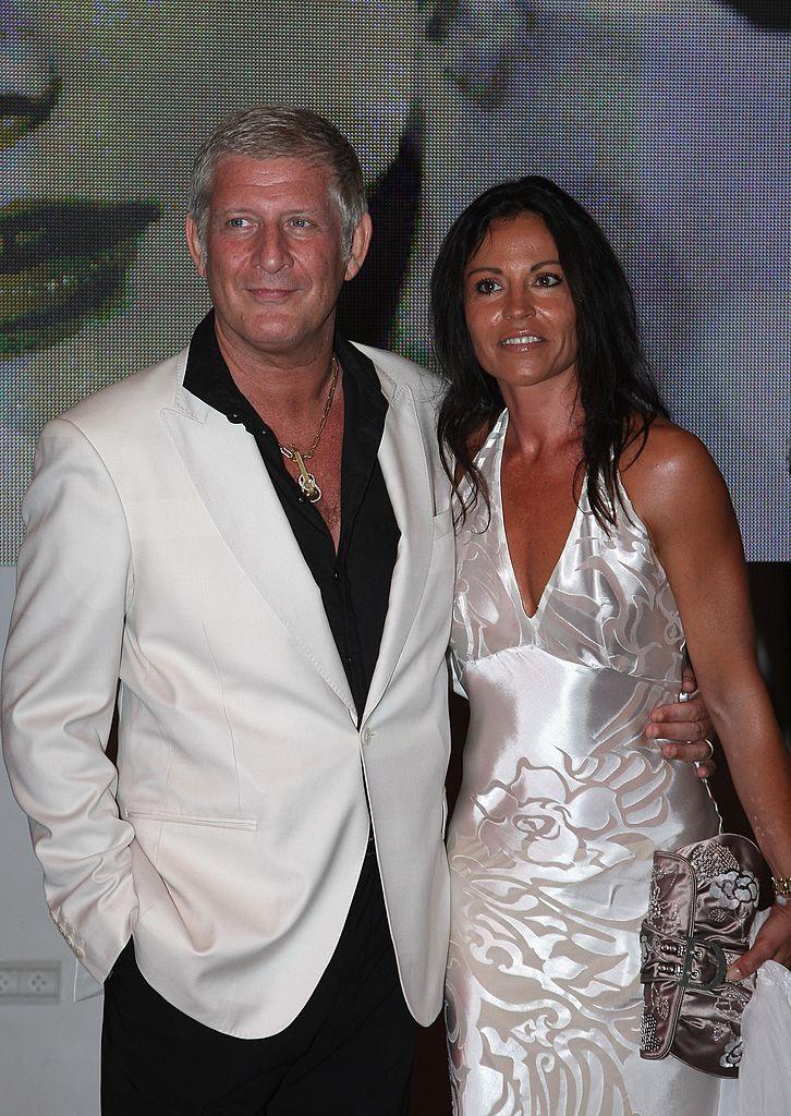 Patrick Sébastien et sa compagne Nathalie en 2007. l Source: Getty Images