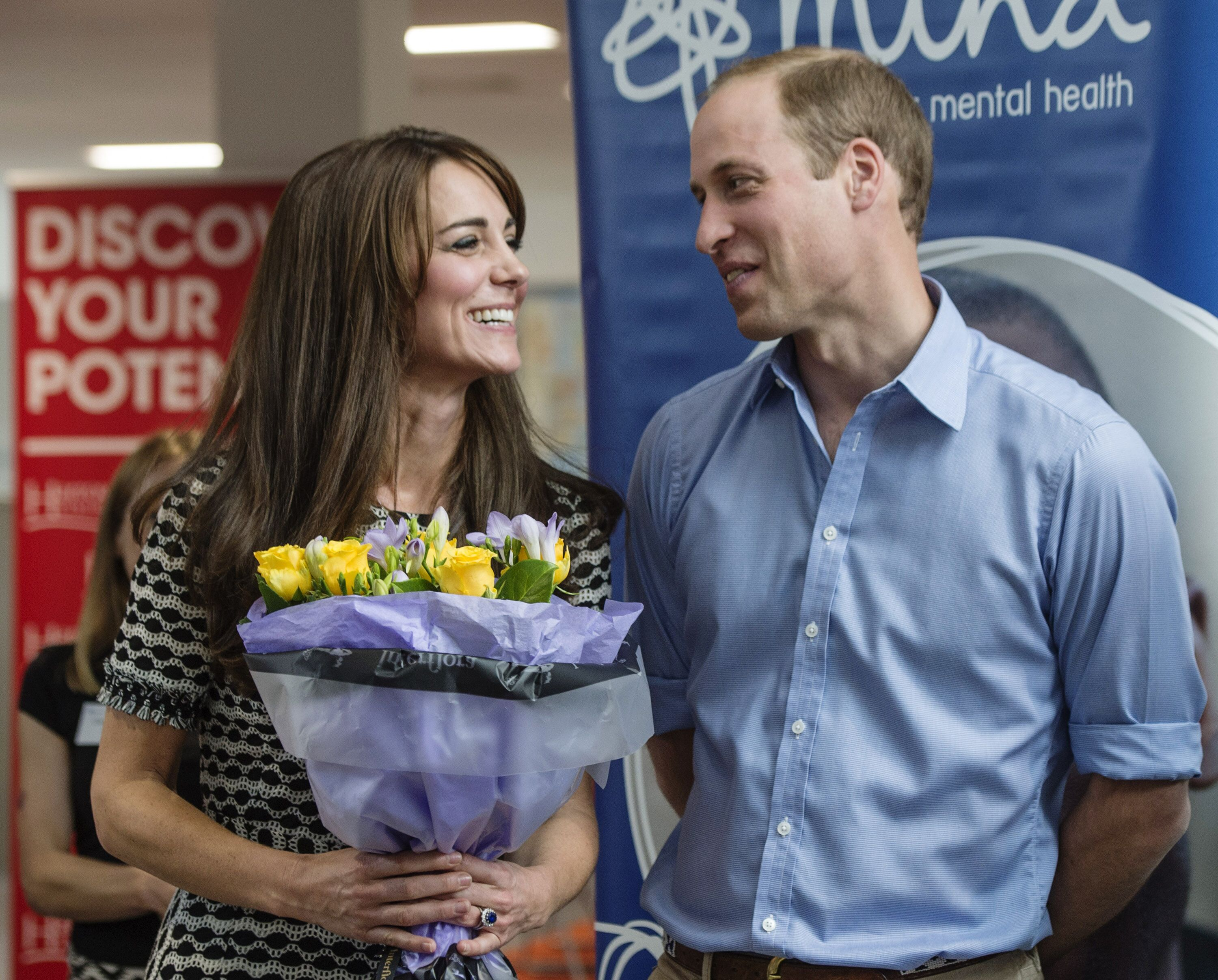 Prince William, Duke of Cambridge and Catherine, Duchess of Cambridge attend an event hosted by Mind, at Harrow College to mark World Mental Health Day in Harrow, England | Photo: Getty Images