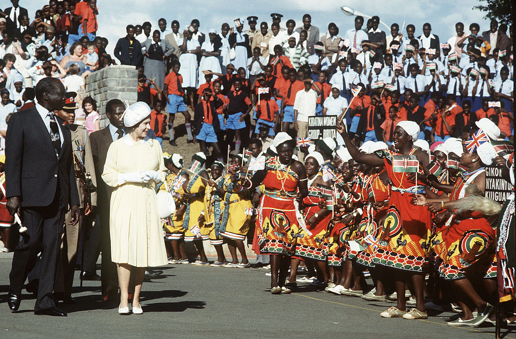 Image Credits: Getty Images / Queen Elizabeth II visits Kenya