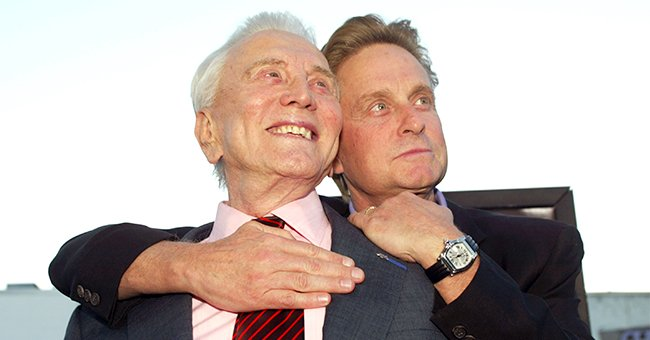 Michael Douglas Speaks Out about Early Days in Showbusiness Working Alongside Late Dad Kirk