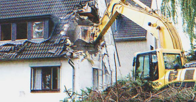 Son Orders to Demolish House with His Mom Still inside If She Refuses to Leave — Story of the Day