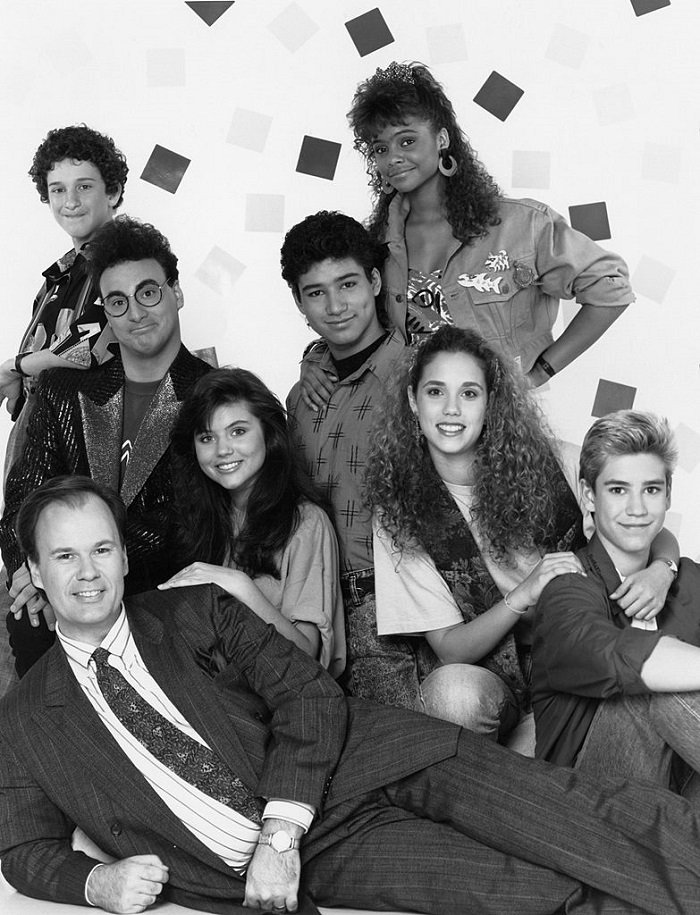 Saved By The Bell cast I Image: Getty Images