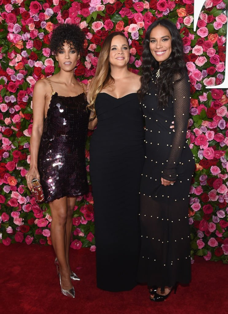 Brooklyn Sudano, Amanda Sudano and Mimi Summer attend the 72nd Annual Tony Awards at Radio City Music Hall on June 10, 2018.   Photo: GettyImages