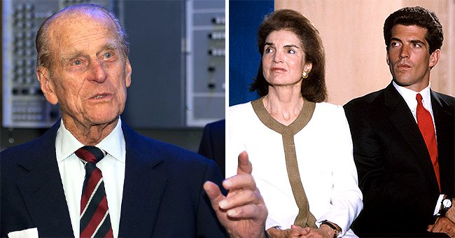 Touching Story about Prince Philip Supporting John Kennedy Jr after His Father's Assassination