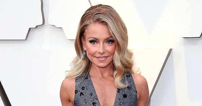 Kelly Ripa Shows off Haircutting Skills as She Trims Son Joaquin's Hair on 'Live!'