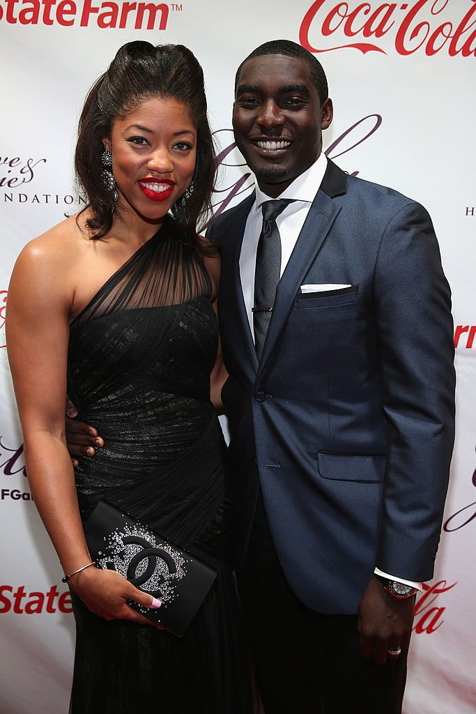 Morgan and Kareem Hawthorne at the 2014 Steve & Marjorie Harvey Foundation Gala on May 3, 2014 in Chicago, Illinois. | Photo: Getty Images