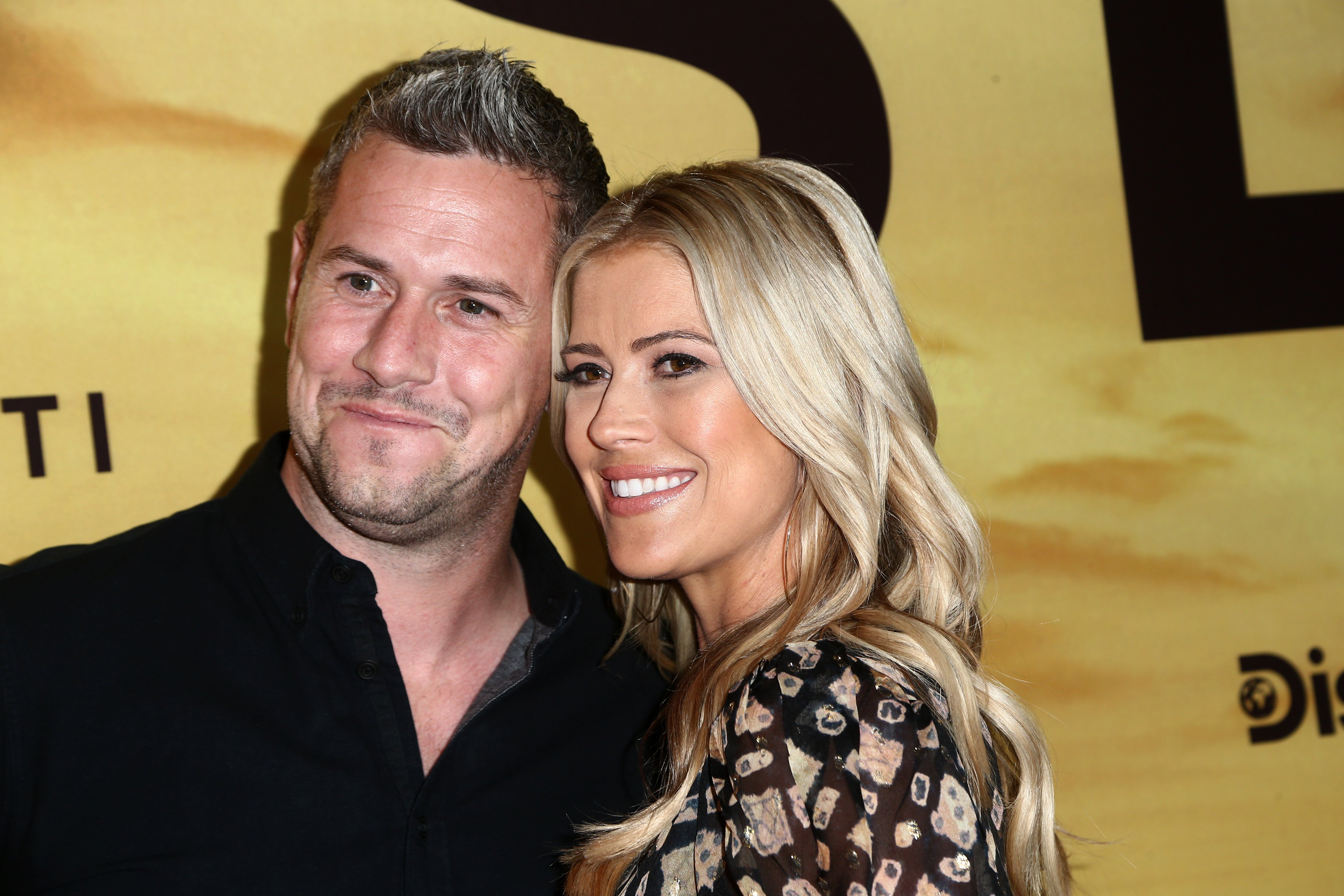"""Ant and Christina Anstead attends the screening of """"Serengeti"""" in Beverly Hills, California on July 23, 2019 