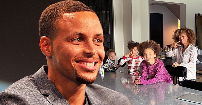 Stephen Curry Shares Family Photos of His Mom, Wife & 3 Look-Alike Kids on Mother's Day
