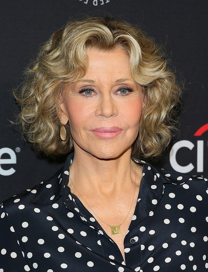 L'actrice Jane Fonda. I Photo : Getty Images