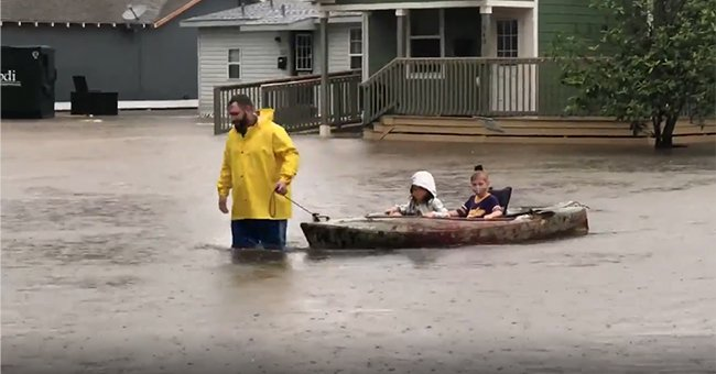 Major Flooding throughout Lake Charles Area Leads to Dangerous Flash Flood in Louisiana
